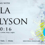 Events In October: An Evening With Sola Allyson