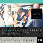 Our Family Dinner Lagos Set to hold at Bistro7 on December 23rd