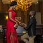 Checkout photos from this romantic proposal in Lagos
