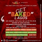 #GetbakedLagos The first bake sale and fun event is holding in Lagos
