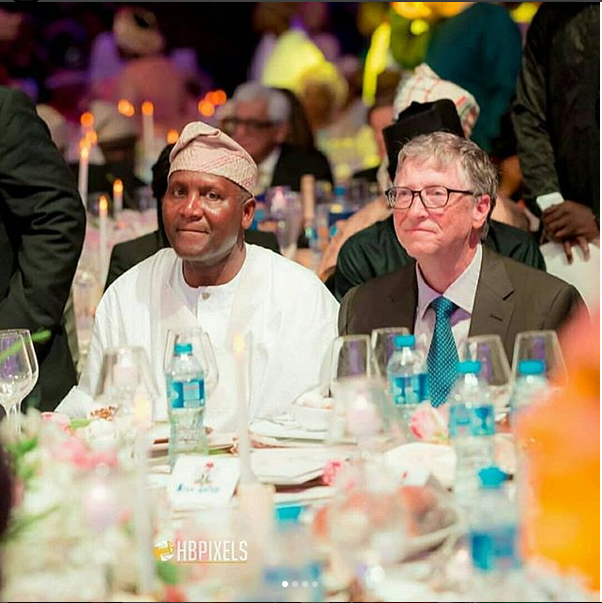 Bill Gates Dangote daughter wedding