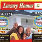 Plots of land for sale in Luxury Homes Ex.1 and Phase 2