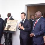 Emmanuel Macron, Wole Soyinka commissions Alliance Francaise in Lagos, Nigeria
