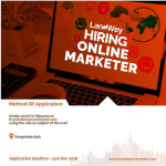 Jobs in Lekki: Online Marketer, Female Lawyer, Admin Assistant At Landwey Investment