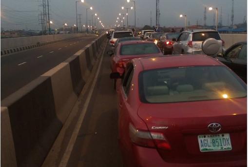 Lagos-Ajah-traffic